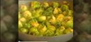 Cook Brussels sprouts the Italian way