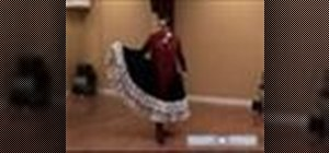 Do advanced Flamenco dancing