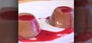 Make chocolate panna cotta
