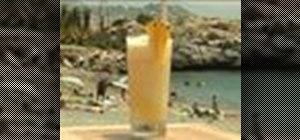 Make a Pina Colada cocktail