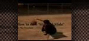 Do the slip n slide move in streetball
