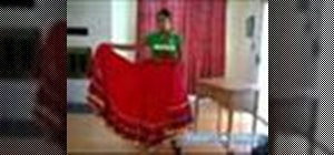 Do the traditional Mexican dance