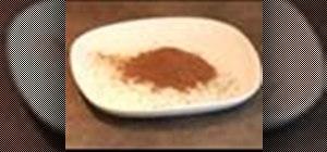 Makegarammasala (blend of hot spices)