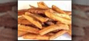 Make chunky chips