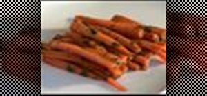 Make glazed carrots