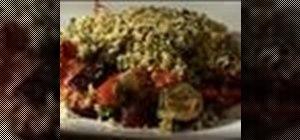 Makesummer vegetable crumble