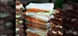 Make tea sandwiches