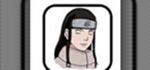 Draw Neji the anime character