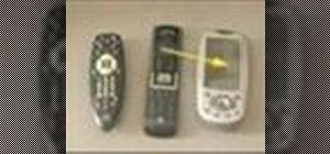 Program a universal remote control