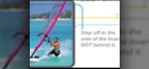 Body drag when windsurfing