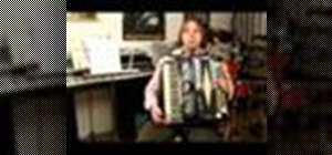 Play the accordion in A major