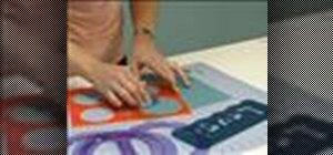 Use a Fiskars Ultra Shape Xpress and Fiskars templates
