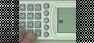 Play tetris on a simple Canon calculator
