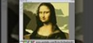 Paint the Mona Lisa with Microsoft Paint