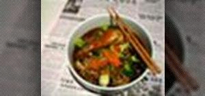 Make authentic homemade Chinese noodle soup