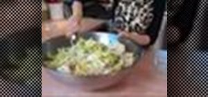Make vegan kimchi