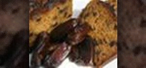 Make a date and walnut cake