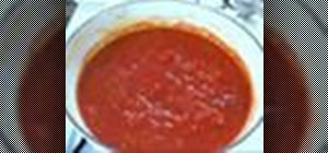 Make pizza sauce