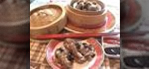 Cook Chinese Dim Sum black bean ribs with Kai