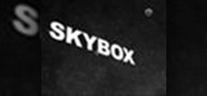 Create a skybox or skydome in After Effects