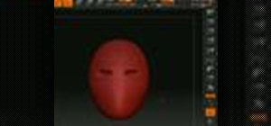 Shape a human head in Zbrush 3.1