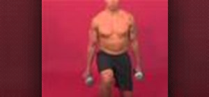 Exercise with the multi-directional dumbbell lunge