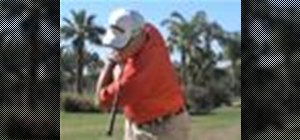 Do the proper golf swing posture, positioning and aim