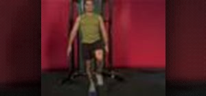 Exercise with the cable leg extension