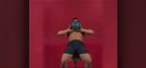 Exercise with the medicine ball throw on incline bench