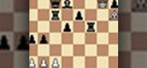 Pin your opponent from the chess middle game