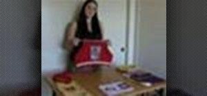 Sew handmade purses