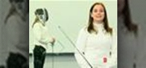 Parry and defend in foil fencing