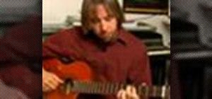 Play bossa nova guitar in D major