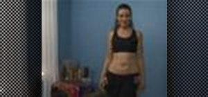 Learn basic belly dance moves