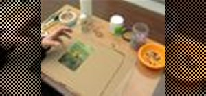 Make a personalized picture frame