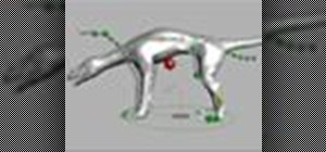 Rig a quadruped with the Auto Rig Tool in Houdini