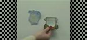 Make an embroidered refrigerator magnet