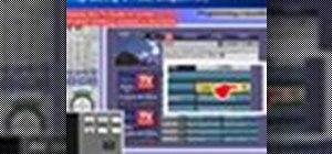 Program a recording on a Panasonic DMR-EH75V Recorder