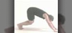 Do an advance sun salutation yoga sequence
