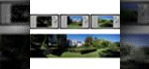 Make panoramic pictures on a Kodak EasyShare camera