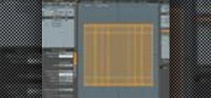 Create a complex folded die cut package in modo 203