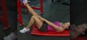 Exercise for weight training with single leg bridges