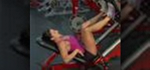 Do butt and thigh press exercises