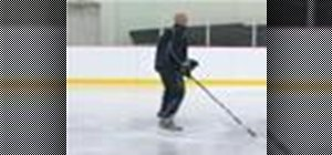 Skate the forward pivot to backwards move