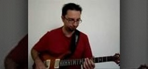 Improvise over II, V, I chord progressions in Jazz on the guitar