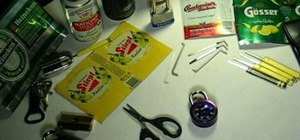 Make beer can padlock shims with a professional