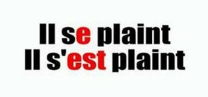 Change your speech to the past tense in French