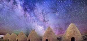 Milky Way Over Abandoned Kilns