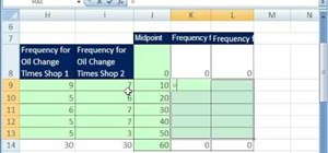 Make a frequency polygon with 2 or more lines in Excel
