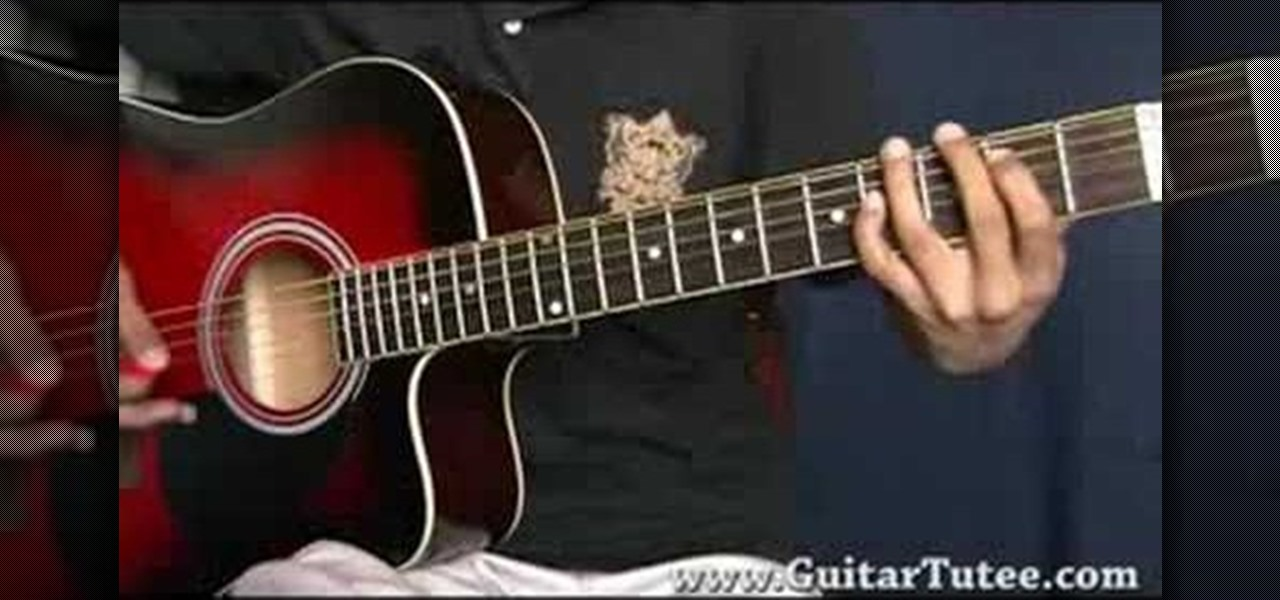 how to play tears dont fall intro on guitar